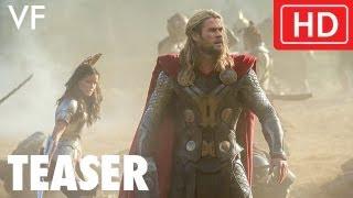 Thor : le monde des ténèbres :  teaser VF