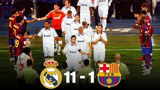 The day Real Madrid beat Barcelona 11-1 - Oh My Goal