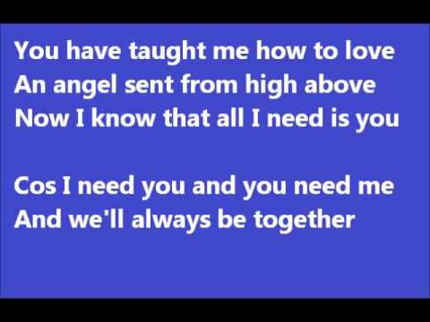 S club 7 - you (lyrics)