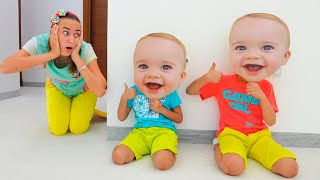 Vlad and Niki play with Toys and have fun with Mom - collection videos for kids
