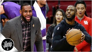 Should Lakers be worried about missing the playoffs?   The Jump