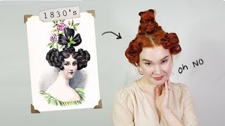 Attempting 100 Years of Victorian Hair!