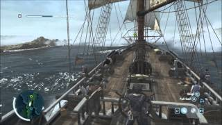 The Chase - Naval Mission - Full Sync - Protect Ship/Destroy Fort - Assassin's Creed 3