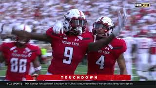 2018 Texas Tech Football Highlights - Houston