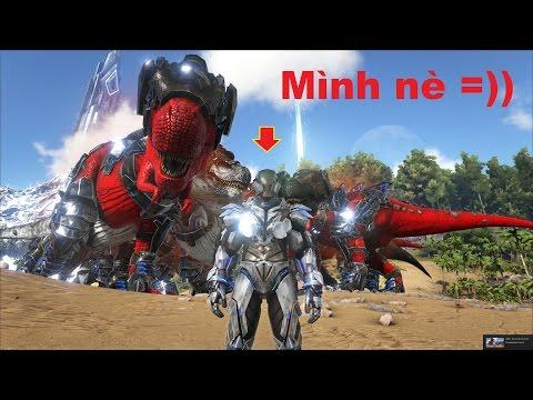 ARK: Survival Evolved - Biến thành Iron Man đi trả thù Khỉ đột lửa =))