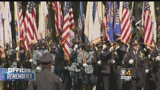 Massive Turnout At Slain Weymouth Sgt. Michael Chesna's Funeral