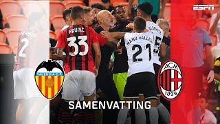 GEWELDIGE keepers en BIZARRE overtreding in Finale Trofeo Naranja | Samenvatting Valencia - AC Milan