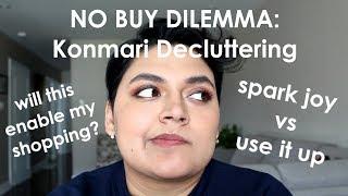 My No Buy Year vs. Marie Kondo // Dueling Philosophies // GRWM