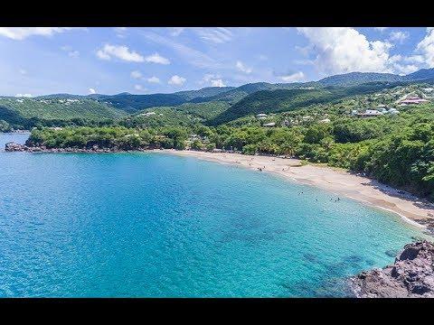 Plage Leroux (Deshaies, Guadeloupe)