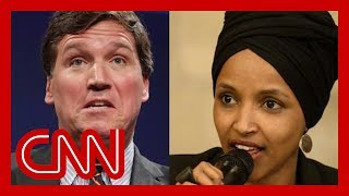 Omar responds to Carlson's claim that she hates America