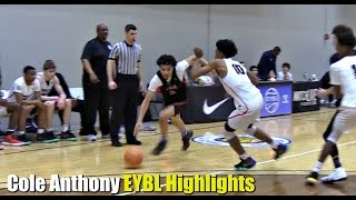 Cole Anthony has Crazy Handles & Court Vision! #1 Point Guard in 2019