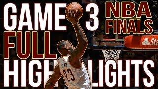 Warriors vs Cavaliers: Game 3 NBA Finals - 06.08.16 Full Highlights
