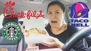 LETTING THE PERSON IN FRONT OF ME DECIDE WHAT I EAT IN 24HRS FT MY BESTFRIEND