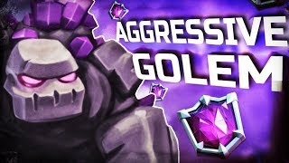 AGGRESSIVE GOLEM! 12-YEAR-OLD Pushes For #1 GLOBAL!