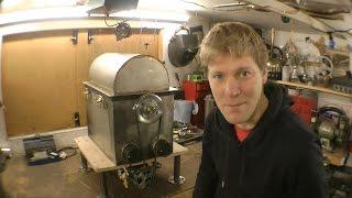 Making a Centrifugal TURKEY Cooking Machine