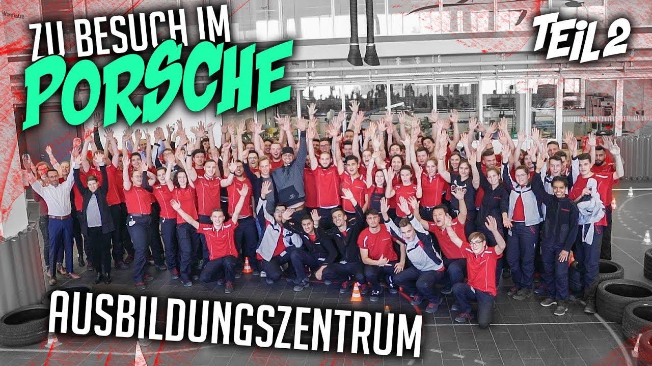 JP Performance bei YouTube - Zu Besuch im Porsche Ausbildungszentrum | Teil 2
