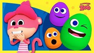 Huevos Sorpresa | La Mona Winona, El Oso Goloso y La Foca Loca | Canciones del Zoo