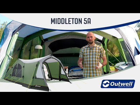 video Outwell Middleton 5A
