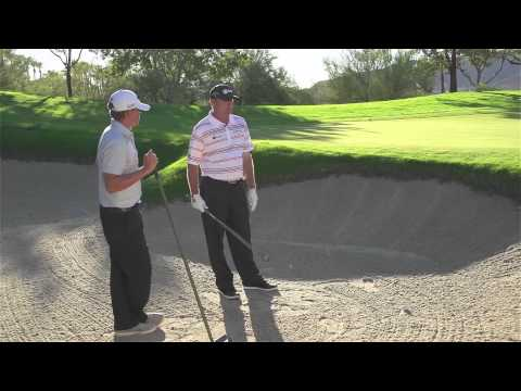 How to hit Bunker Shots, with Tommy Gainey - Callaway Office Golf Tips