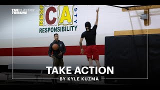 Kyle Kuzma gives back to his hometown of Flint | Take Action | The Players' Tribune