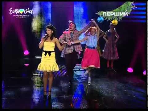 Jamala - Smile (live) (Евровидение-2011. Национальный отбор) [26.12.10]