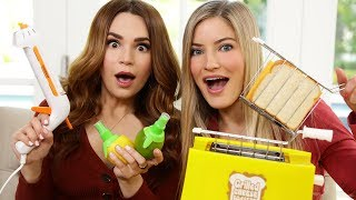 TESTING FUN KITCHEN GADGETS w/ iJustine!