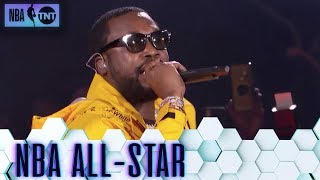 Meek Mill Intros All-Stars w/ 'Dreams and Nightmares'   All-Star 2019