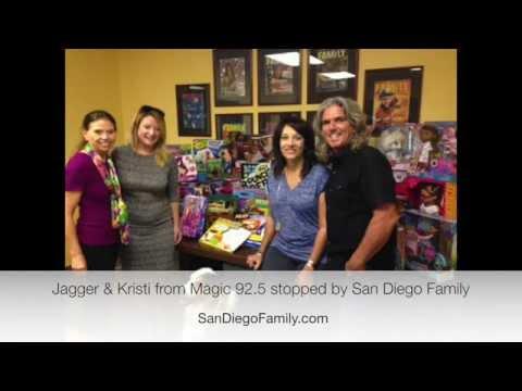 San Diego Family Works with Magic 92 5 Jagger & Kristi's Christmas Wish