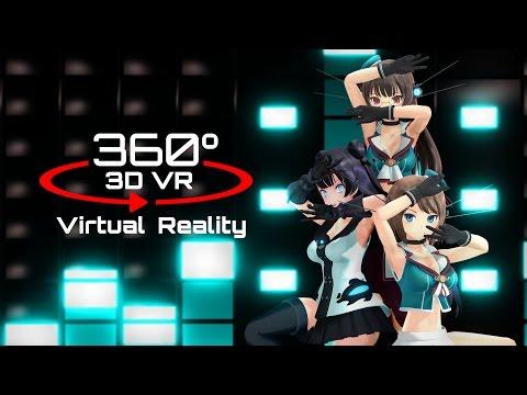 360 3D 4K | MMD ????????VR????ver.