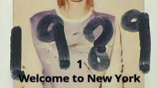 Taylor Swift 1989 Album Preview