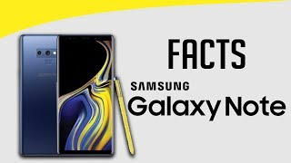 5 Amazing Facts of Samsung Galaxy Note Series