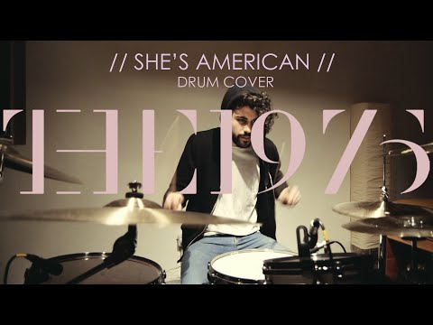 The 1975 - She's American | Drum Cover by Giovanni Cilio