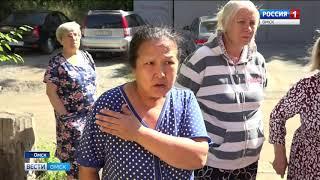 Четыре дома по улице Строителей страдают от подтоплений несколько раз в год