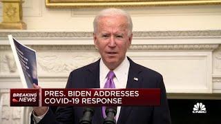 President Joe Biden: If we wear masks until April, we can save 50K lives