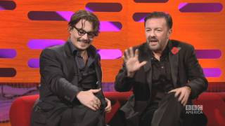 JOHNNY DEPP: Stuffed Piranhas & Vampire Bats (The Graham Norton Show)
