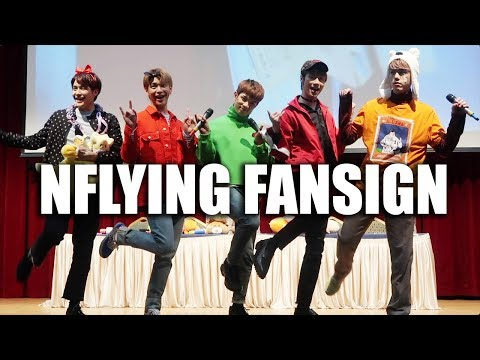 NFLYING FANSIGN EXPERIENCE
