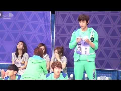 130128 idol olympics sleepy chanyeol