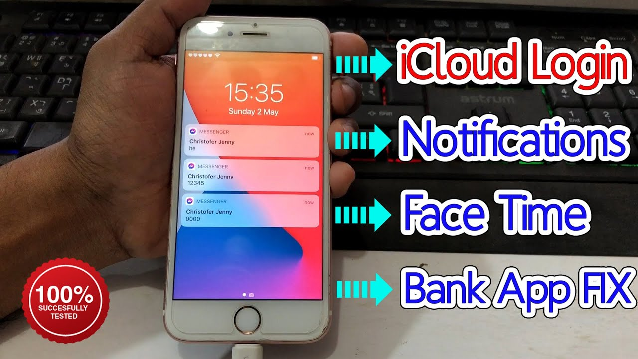 FREE [Windows]Bypass iCloud FIX NOTIFICATIONS | Facetime | iCloud login | Bank apps - FRPFILE AIO v2