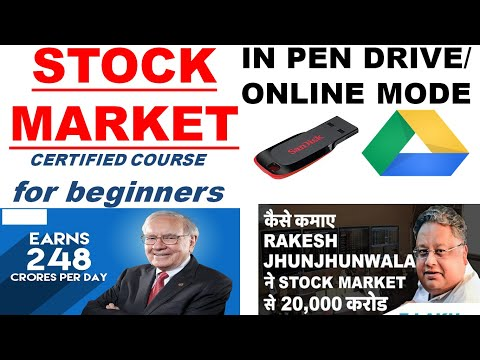 video Certificate Course on Stock Market By CA Aaditya Jain