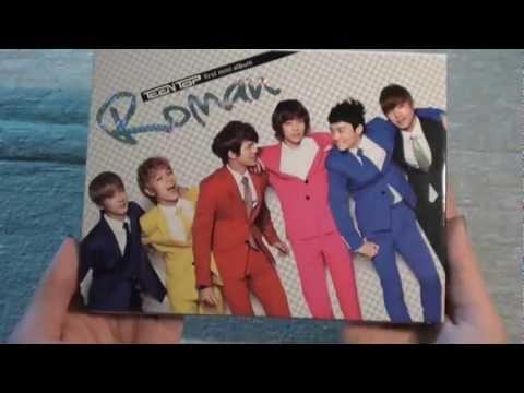 [Album Unboxing] Teen Top - Mini Album vol.1 - Roman