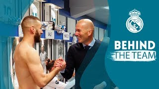 Inside the dressing room and pitch celebrations: Real Madrid 2 - 2 ...
