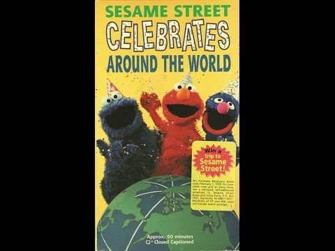 Closing To Sesame Street:Sing-Along 1987 VHS Musica Movil ...