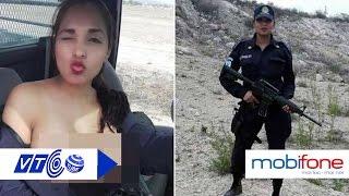 Nữ cảnh sát lộ ngực trần đắt sô mời làm mẫu | VTC