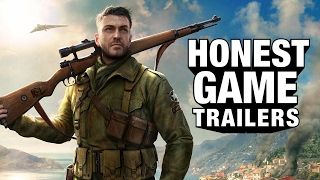 SNIPER   ELITE 4 (Honest Game Trailer)