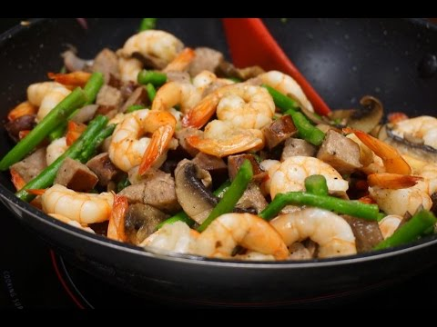 Keto Diet Shrimp Stir Fry