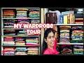 My wardrobe tour and organization  India wardrobe tour  Telugu vlogs  Ramya  Ramya's slice of life.