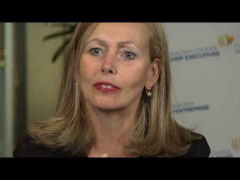 Monique Leroux parle de l'importance de l'innovation et de l'education