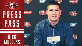 Nick Mullens Reviews 49ers Week 2 Win over the Jets