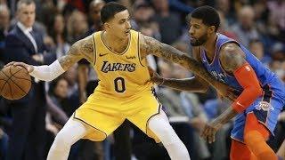 Lakers Beat Thunder in OT! Zubac 26 Pts Kuzma 32! 2018-19 NBA Season
