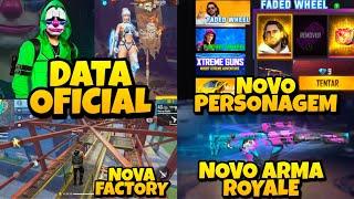 DATA OFICIAL DO TOP CRIMINAL E BANDERÃO, NOVA FACTORY, NOVO ARMA ROYALE, PERSONAGEM DIMITRI E MAIS